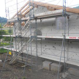 Neubau EFH, Schiers